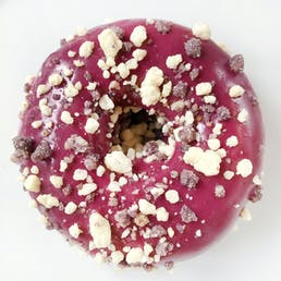 Blueberry Crumble Cake Donuts - 12 Pack
