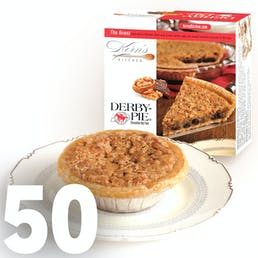 Kentucky Derby Pie Tarts - 50 Pack