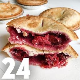 Cherry Frisbie Mini Pie - 24 Pack