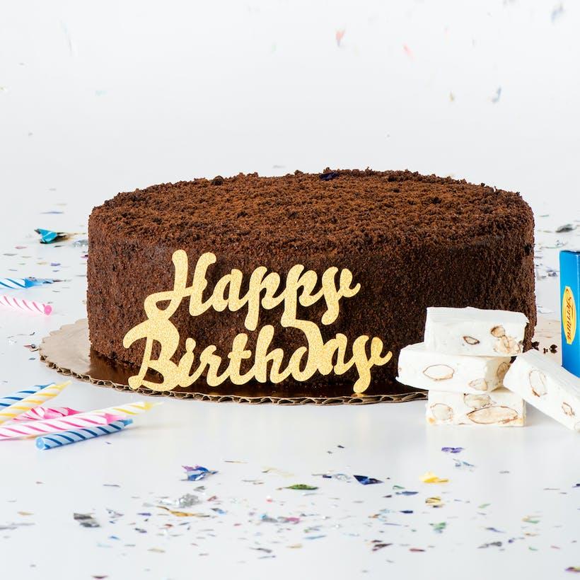 Gold Birthday Cake Pack