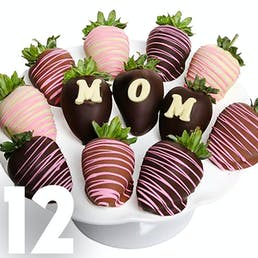 Mother's Day Chocolate Covered Strawberries - 12 Pack