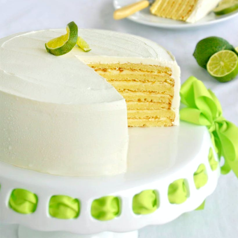 7-Layer Key Lime Cake