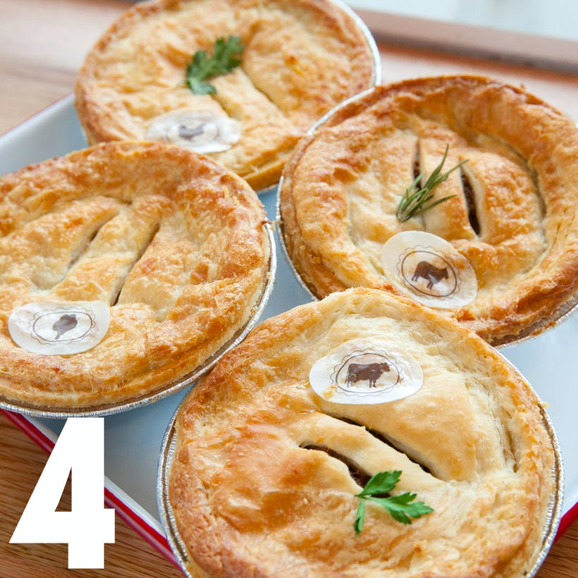 Dad's Beef & Chicken Aussie Pies - 4 pack
