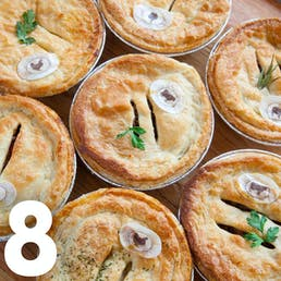 Dad's Beef & Chicken Aussie Pies - 8 pack