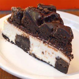 Brownie Explosion Cheesecake