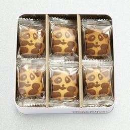 Panda & Penguin Cookie Gift Tin