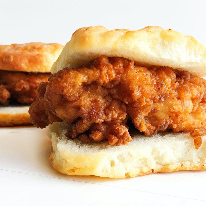 Fried Chicken Biscuit Sandwich Kit