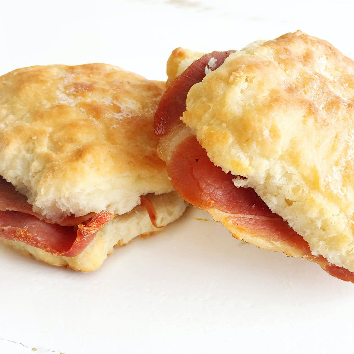 Country Ham Biscuit Sandwich Kit By Sunrise Biscuit Kitchen Goldbelly