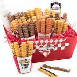 Cookie Fries Red Basket Mini Sampler