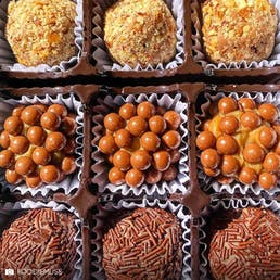 Seasonal Brigadeiro Tower Box of 42