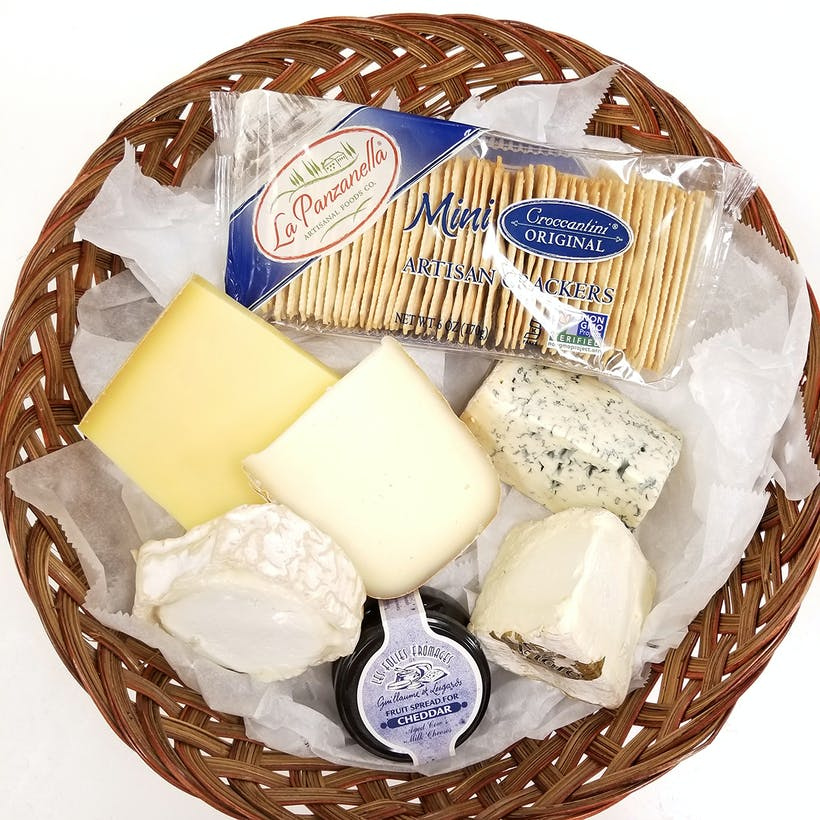 French Cheese Gift Basket