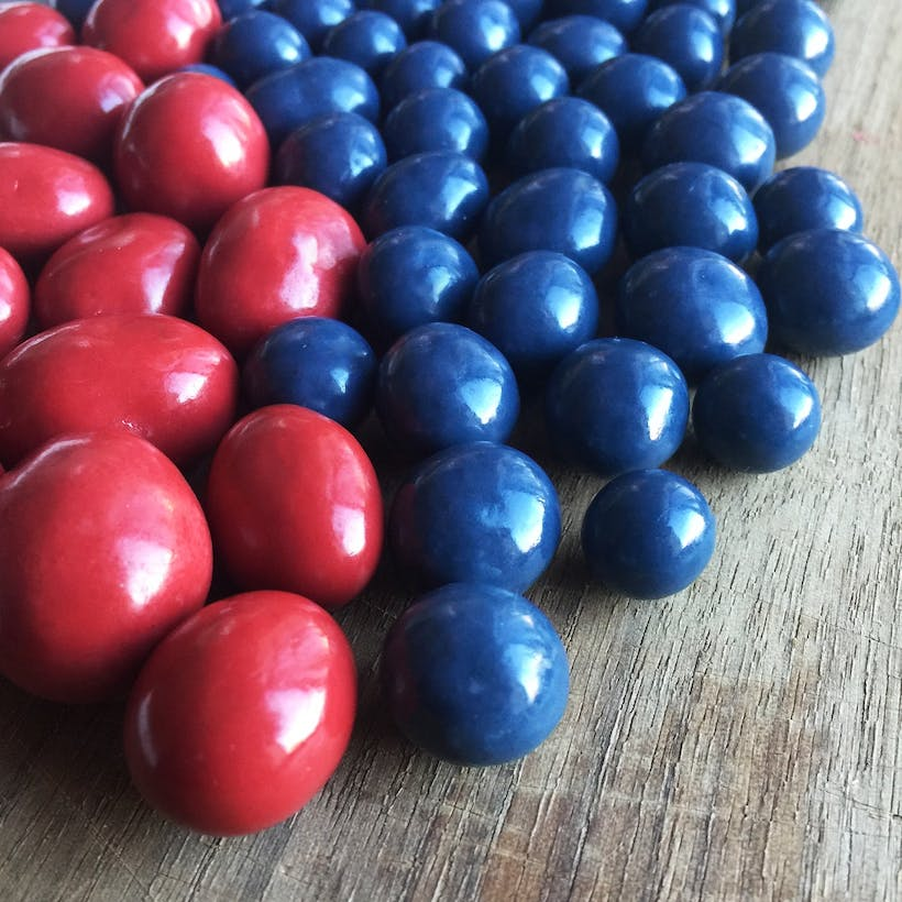 Chocolate Covered Blueberries and Cranberries