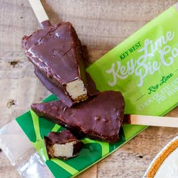 Chocolate Dipped Key Lime Pie Bars - 24 Pack