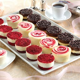 Junior's Favorites Mini Cheesecake Sampler - 18 Pack