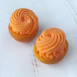 Orange Sorbet Halves - 8 Pack