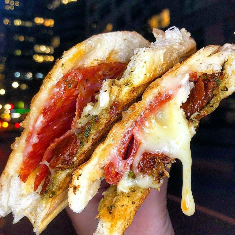 #23 - Spicy Salami, Tomatoes, & Brie Panini - 4 Pack