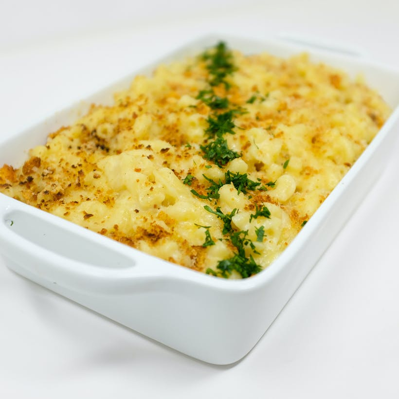 Macaroni & Cheese Gratin