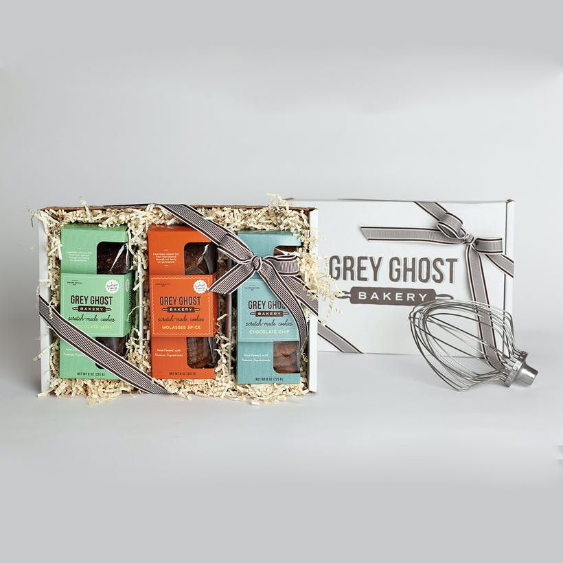 Grey Ghost Cookies - Gift Box