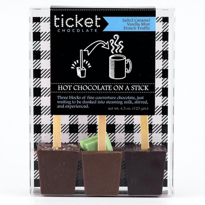 Variety Hot Chocolate Sticks - 3 Pack