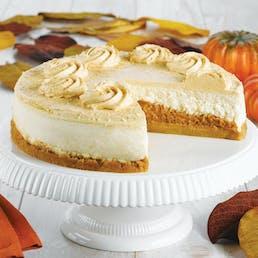 Junior's Pumpkin Pie Cheesecake