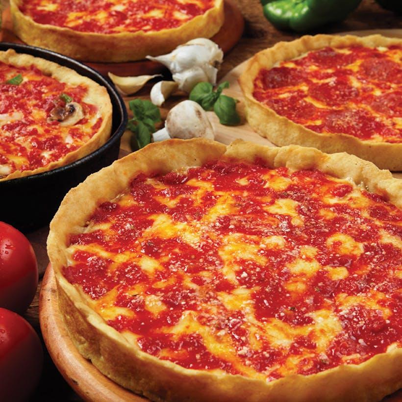 6 Lou Malnati's Deep Dish Pizzas