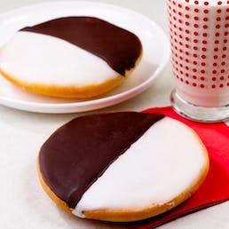 Famous Giant Red Velvet Black & White Cookies