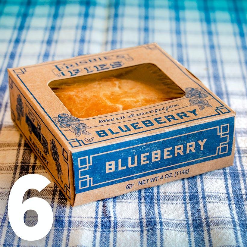 Blueberry Frisbie Mini Pie - 6 Pack