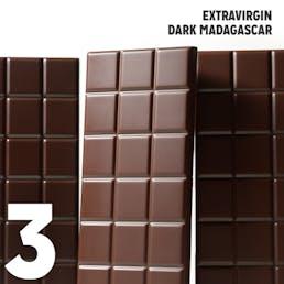 K+M Extravirgin Milk Cocoa Nibs - 3 Pack