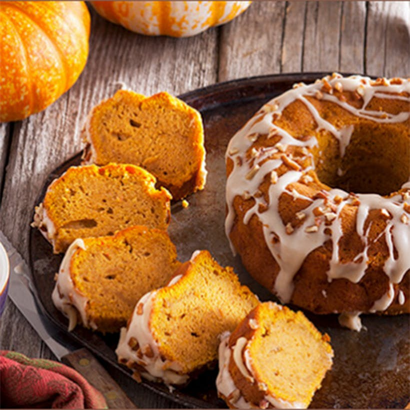 Pumpkin Crown Cake