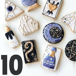 Halloween Cookie Gift Box - 10 Pack