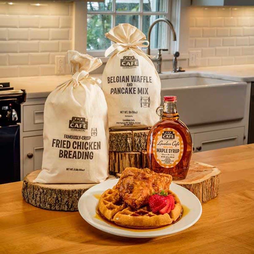 Chicken N Waffles Gift Set