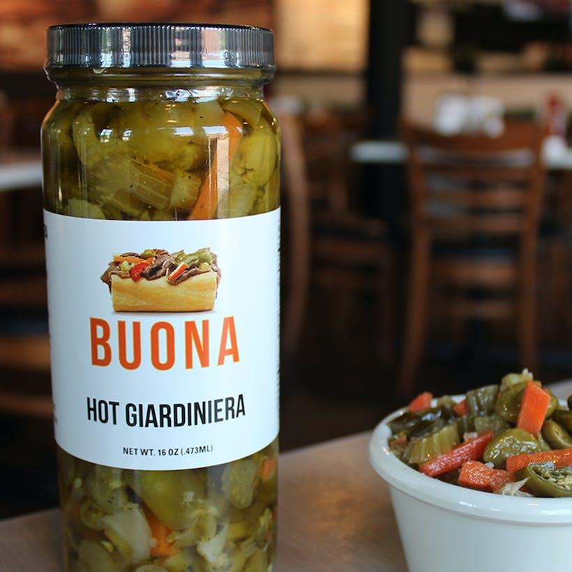 Buona's Hot Giardiniera