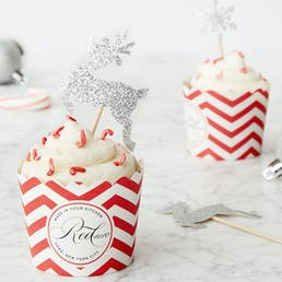 Candy Cane Cupcake DIY Baking Kit