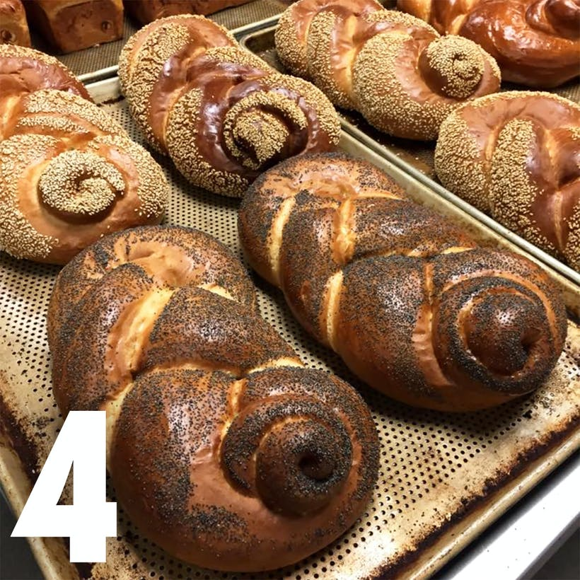 Choose Your Own Authentic Challah - 4 Pack