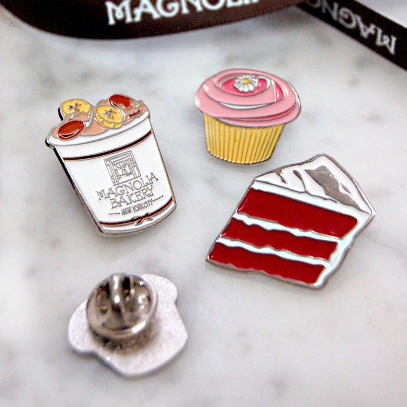Magnolia Bakery Lapel Pins