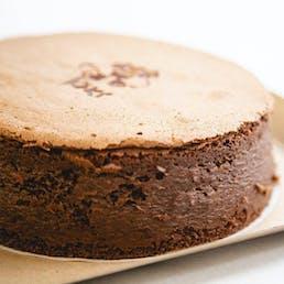 Bouncy Brownie Japanese Cheesecake