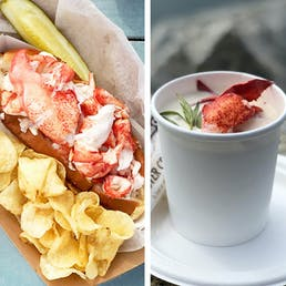 Lobster Roll Kit And Lobster Stew