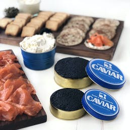 Ultimate Salmon & Caviar Pkg
