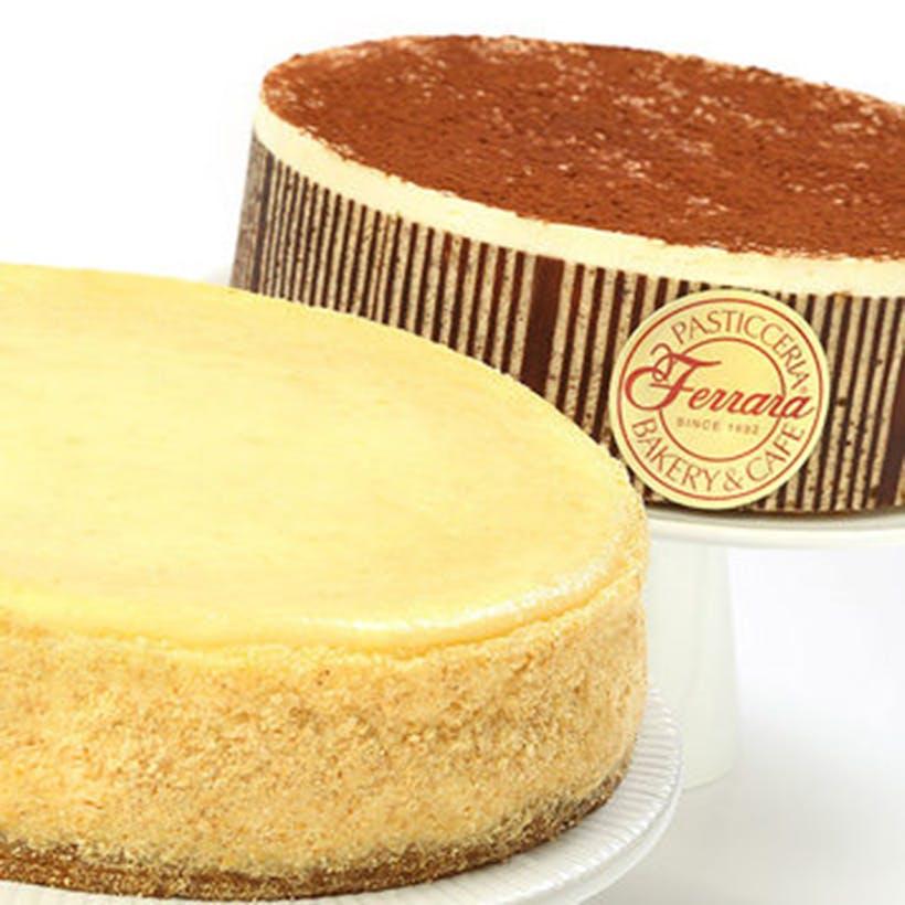 Tiramisu Cake & NY Cheesecake