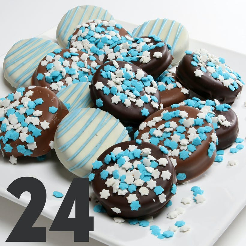 Hanukkah Chocolate Covered OREO® Cookies - 24 Pack