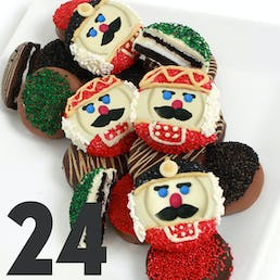 Nutcracker Belgian Chocolate Dipped OREO® Cookies - 24 Pack