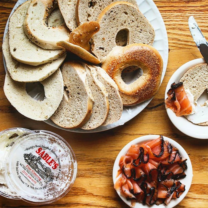 Sable's Smoked Fish and Bagel Brunch For 6