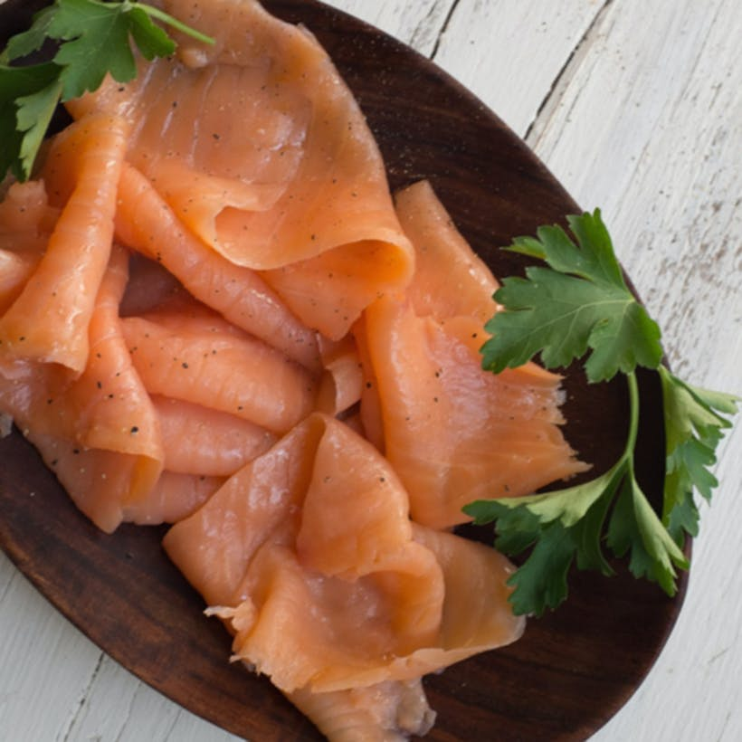"Eastern ""Gaspe"" Smoked Salmon - 1/2 lb."