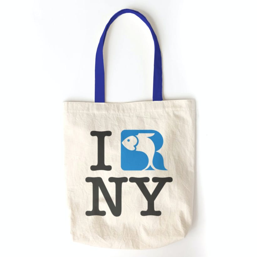 Russ & Daughters Loves NY Tote Bag