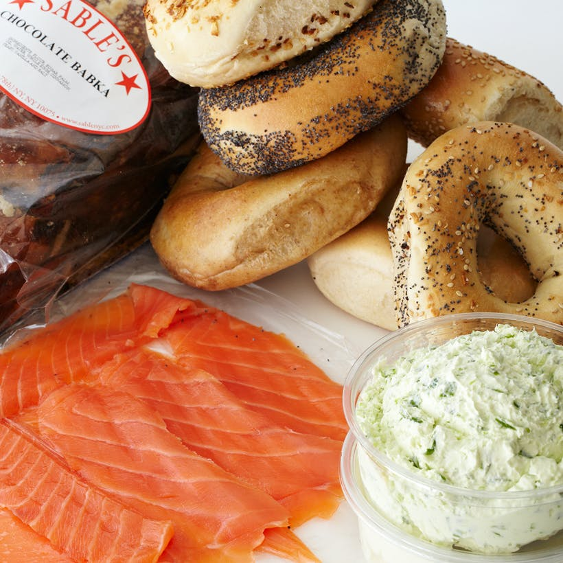Sable's Smoked Fish & Bagel Brunch for 12