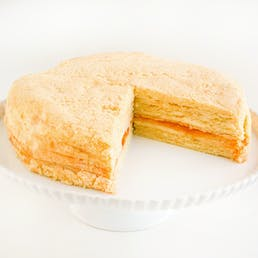 Original Vanilla Apricot Napoleon Torte