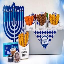 Hanukkah Cookie Fry Basket - 12 Pack