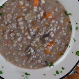 Mushroom Barley Soup - 2 Qts.