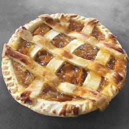 Peach Lattice Top Pie