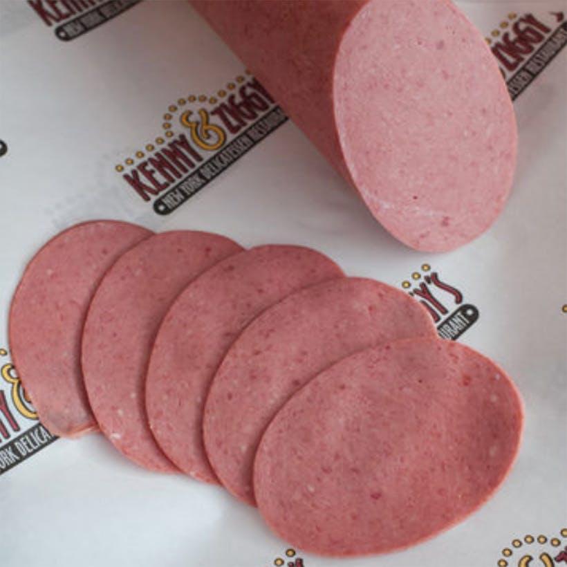 Soft, Sliced, Kosher Salami - 1 lb.